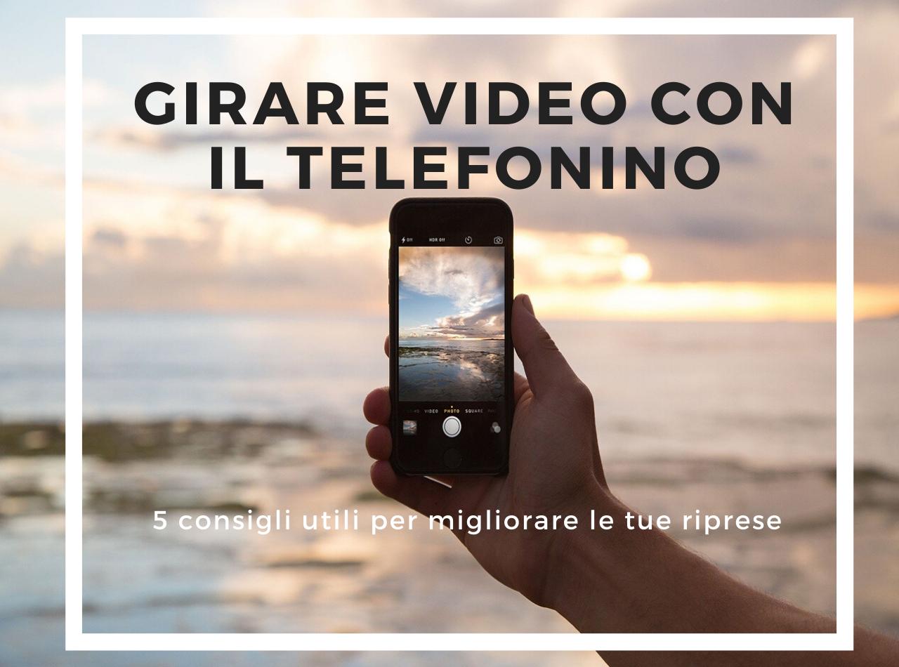 5 Consigli per migliorare i vostri video