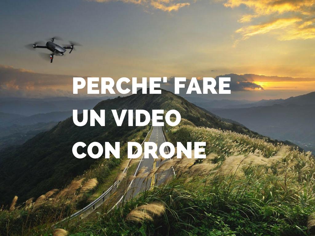Video con drone, riprese aeree | Homasfilm