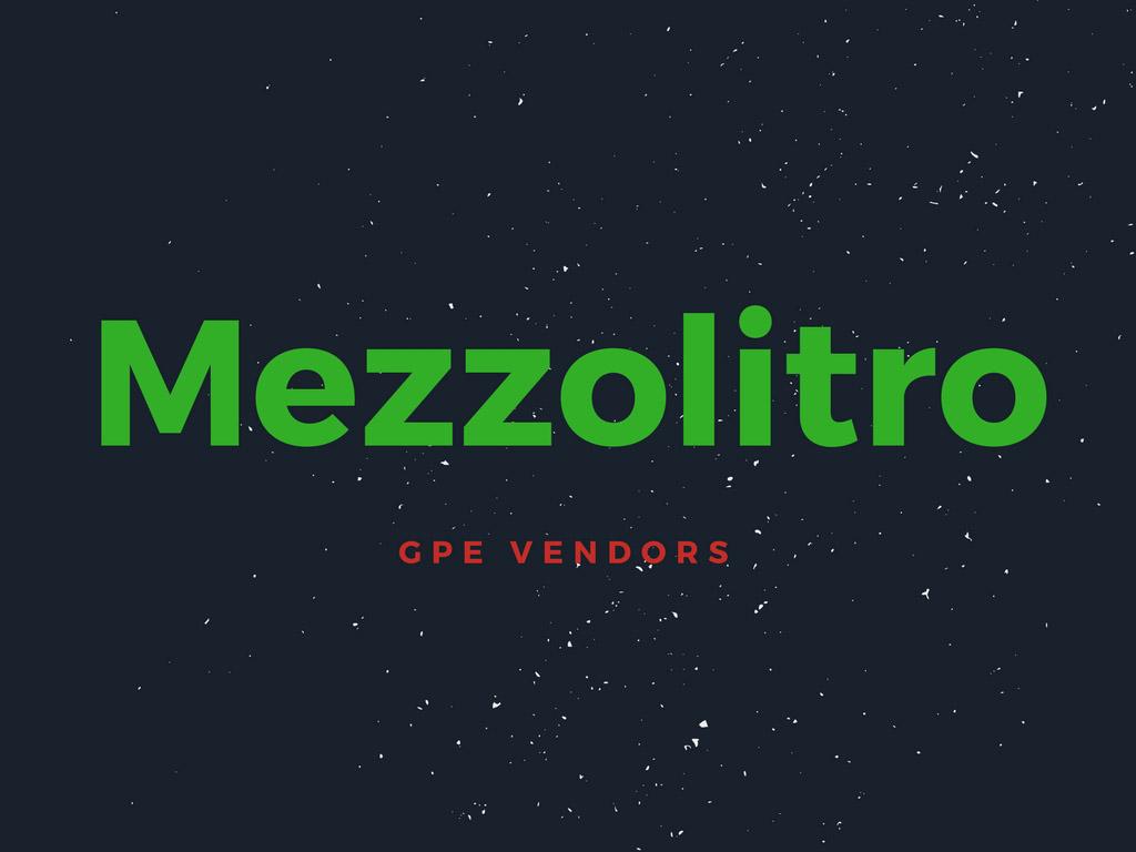 GPE Vendors - MezzoLitro